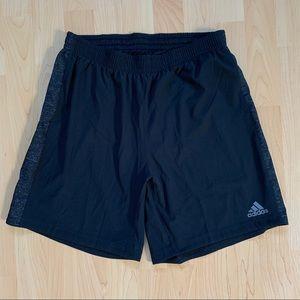 Black Adidas Supernova Shorts